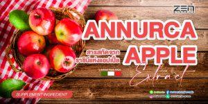 สารสกัดจากราชินีแห่งแอปเปิ้ล Annurca Apple extract