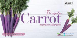 สารสกัดจากแครอทสีม่วง ประโยชน์ที่มากกว่าแค่การบำรุงดวงตา!!